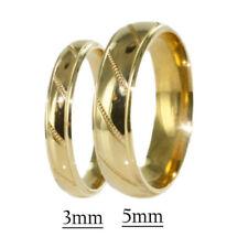 Anillos de joyería de oro amarillo diamante diamante