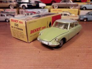 Véritable Dinky Toys Meccano Citroen DS 19 en excellent état + boîte d'origine