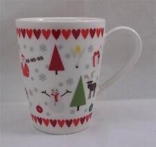 Villeroy & and Boch CHRISTMAS VIVO 4 x mugs Christmas mix NEW NWL