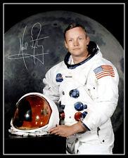 Neil Armstrong Autographed Repro Photo 8X10 - NASA Apollo 11 Astronaut