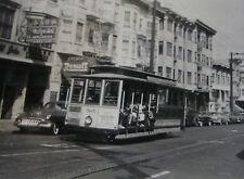 USA077 MUNICIPAL RAILWAY SAN FRANCISCO 1950s TROLLEY No507 PHOTO California USA