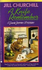 A Knife to Remember by Jill Churchill (1994, Paperback)
