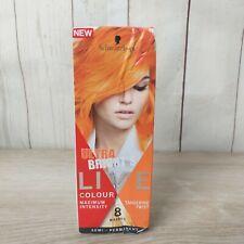 Schwarzkopf Live Colour Ultra Brights Tangerine Twist Semi-Permanent Hair Dye