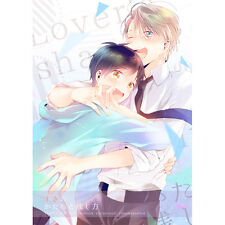 Yuri!!! on Ice YAOI Doujinshi ( Victor x Yuri Katsuki )How can you leave NEW!