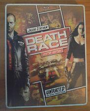 Death Race (Blu-ray and DVD) Steelbook / Comic Design - Statham - No Digital
