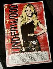 """Official Carrie Underwood 2015 """"Storyteller"""" Tour Animated Poster 11x14"""" New"""