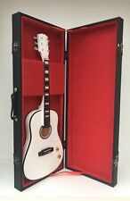 The Beatles John Lennon 70th Anniversary Guitar miniature In Case and Stand (UK)