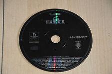 jeu PS1 FINAL FANTASY VIII - Disque de démo