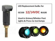 GE 330 - GE330 - LED Drop-in Replacement - 12 Volt - for Aircraft Post Light