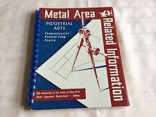 1951 Metal Area Related Information Teacher Book
