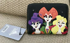 NWT LOUNGEFLY DISNEY HOCUS POCUS WALLET WITCH SISTERS NEW RELEASE SOLD OUT