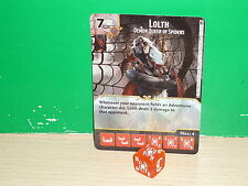 D&D DICE MASTERS Faerun Under Siege - 128 Lolth