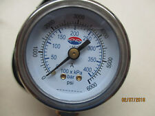 Heavy Duty CNG 6000 PSI Pressure Gauge
