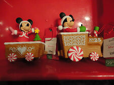2016 HALLMARK DISNEY MUSICAL CHRISTMAS EXPRESS TRAIN MICKEY AND MINNIE MOUSE New