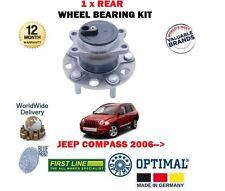 Per Jeep Compass 2.0 2.2 DT SUV NUOVO 1 X Posteriore Cuscinetto Ruota HUB Kit per FWD