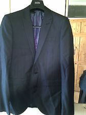 NEW NEXT MAN'S/MEN'S TAILORED SUIT JACKET DARK GREY FULLY LINED SIZE 36 REGULAR