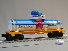 LIONEL MICKEY MOUSE & FRIENDS DONALD DUCK TANK CAR O GAUGE disney 6-83979-T NEW