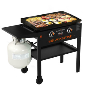 Blackstone 28-in Outdoor Flat Top Propane Gas Grill Griddle Station 2 Burner 202