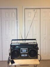 VINTAGE Sanyo Boombox M9994K Ghettoblaster Clean Radio Cassette Recorder Player