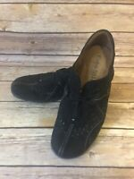 Womens Cobb Hill Loafers Size 6.5 M Black Comfort Shoes Career Slip On Leather