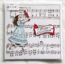 THE MAGIC OF CHRISTMAS TCHAIKOVSKY NUTCRACKER MARCH HANDMADE BLANK GREETING CARD