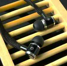 SHOELACE STEREO HANDS-FREE 3.5MM IN-EAR HEADSET HEADPHONE EARPHONE EARBUD COLORS