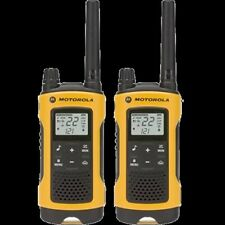 Motorola 2-Way Radio, 2-Pack, 35Mi., Yellow