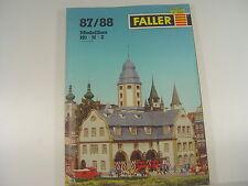 Katalog Faller 1987 / 1988 -  #195 - gebr.