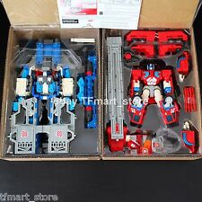 Transformer RID Car Robots Ultra Magnus + Optimus Prime + God Fire Convoy Box