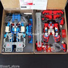 Transformer RID Car Robots Ultra Magnus + Optimus Prime + God Fire Convoy Box