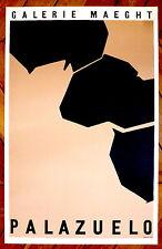 Palazuelo Affiche en lithographie 1958 art abstrait abstraction Espagne Mourlot