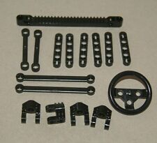 Lego 16 Parts Technic Gear Rack Liftarm Steering Link Axle new