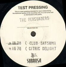 THE PERSUADERS - Beethoven / In 78 - Subrosa