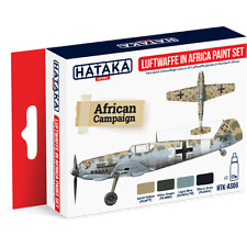 Hataka Luftwaffe in Africa acrylic paint set HTK-AS06