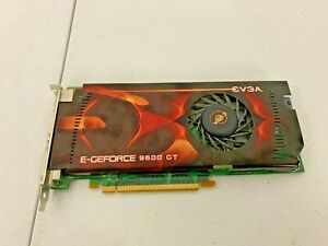 EVGA Nvidia E-GeForce 9600 GT Graphics Card (512 MB, PCIe x16) - TESTED