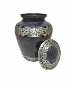 Aluminum Metal Cremation Urn For Cremated Human Ash Remains Storage