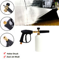"High Pressure Washer 1/ 4"" Snow Lance Cannon Car Clean Washer"