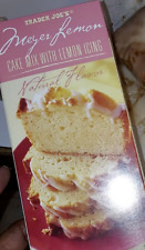 TRADER JOE'S MEYER LEMON CAKE MIX 2-Pack NEW Limited Edition x2