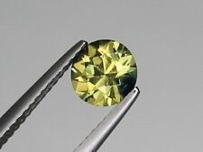 Best Australian Yellow Sapphire VS 6.5mm Round 1.19ct Loose Natural Gemstone
