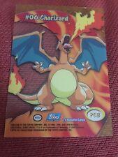 Pokemon Card Charizard Topps Tv Animation Edition #06 RARE