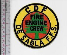 Hot Shot Wildland Fire Crew California CDF De Sabla Forest Fire Station Fire Eng