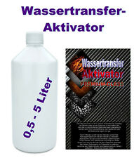 Aktivator Wassertransferdruck Folie Wassertransfer Transfer Activator