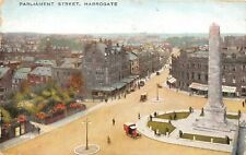 POSTCARD  HARROGATE -  PARLIAMENT STREET - BIRDS EYE VIEW - CIRCA 1929