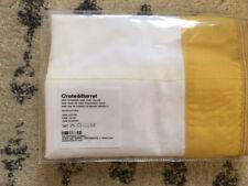 """Crate & Barrel """"Miri"""" Standard Pillow Sham 20"""" X 30"""" New"""