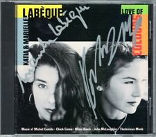 Katia & Marielle LABEQUE Signiert LOVE OF COLOURS Chick Corea Thelonious Monk CD