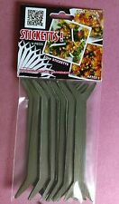 Garden Plant Pot Marker Plastic Stakes Tag Seed Labels easy to use