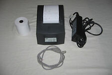 Star Micronics TSP600 USB Point of Sale Thermal Printer + Cables + Paper