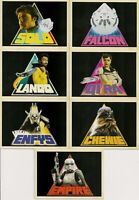 Star Wars - Solo - Icons - Complete 7 Card Chase SET - Topps 2018 - NM