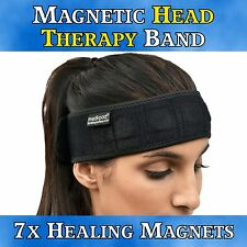 Magnetic Headband - Migraine Headache Neck Pain Relief Stress Tension Soothe