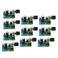 10PCS,LM386 Mini Audio Power Amplifier Board DC 3V-12V Adjustable Volume AMP